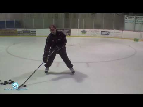 Practice Your Stationary Wrist Shot: Hockey Shooting