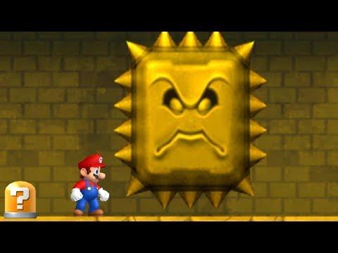 Newer Super Mario Bros Wii Walkthrough - World 2 - Rubble Ruins (видео)