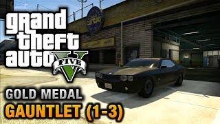 Grand Theft Auto V 100% Gold Medal Walkthrough  Guide in HD GTA V Missions Walkthrough Playlist: http://www.youtube.com/playlist?list=PLQ3KzJPBsAHnNmaulPFn2...