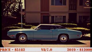 Ford Thunderbird 1955-2005 CHRONOLOGY. Evolution Muscle car