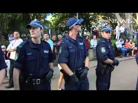 NSW Police clash again with Occupy Sydney