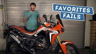8. 2017 Honda Africa Twin - Favorites & Fails