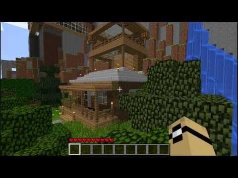 minecraft house tour - Piston Tutorial Video (if it's up): http://www.youtube.com/watch?v=noWLQvmTYrY.