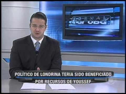 Político de Londrina teria sido beneficiado por recursos de Youssef (22/10)
