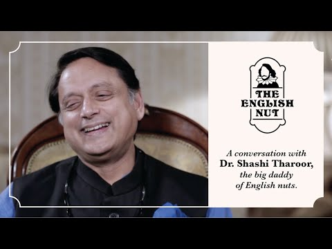 A conversation about English with SHASHI THAROOR. [2020]