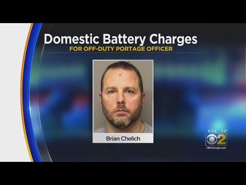 Porter County Police Officer Charged With Domestic Battery