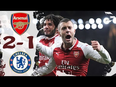 Arsenal vs Chelsea 2-1 ● All Goals (24/01/2018) HD