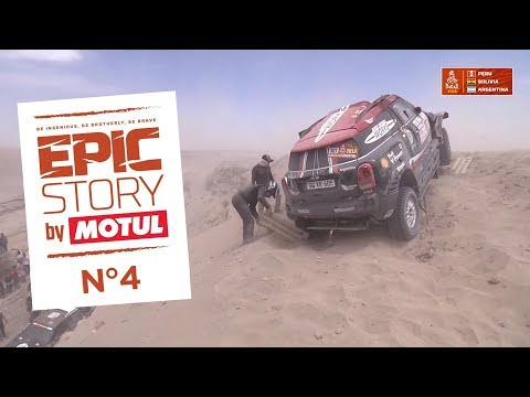 Epic Story by Motul - Stage 6 - English - Dakar 2018