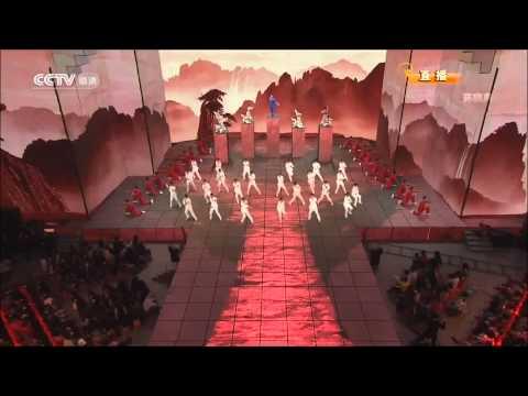 Uma coreografia impressionante e colorida de Kung Fu