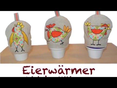 Stickdatei Eierwärmer Wilde Hühner