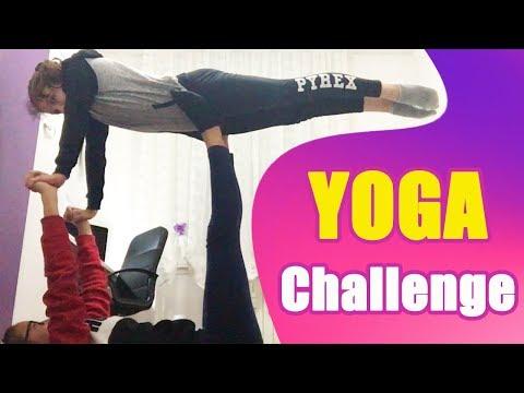 YOGA CHALLENGE TROPPO DIVERTENTE! 😂 AURY GYMNASTICS