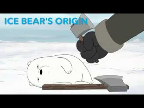 We bare bears | the bear bros' origin story : ice bear.  episode 1