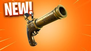 The New FLINTLOCK Pistol in Fortnite..