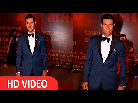Randeep Hooda At Red Carpet Of Grand Screening Of Film Sarabjit