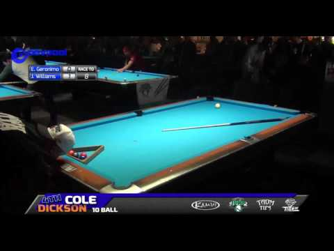 #5 • Edgie GERONIMO vs Jason WILLIAMS • 2016 Cole Dickson 10 Ball (видео)