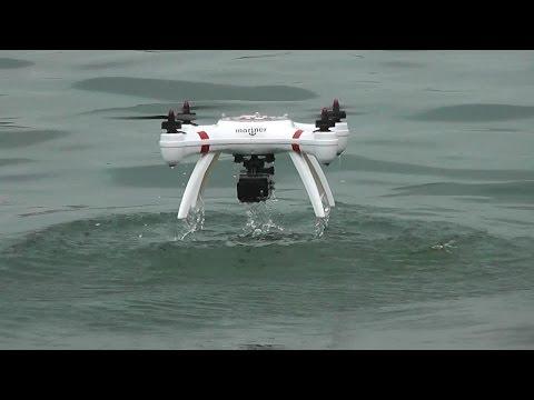 Quadcopter w wodzie i ......