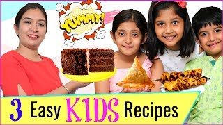 3 EASY Snacks for KIDS/TEENAGERS | #PhilipsAirfryer #Lunchbox #MyMissAnand #CookWithNisha