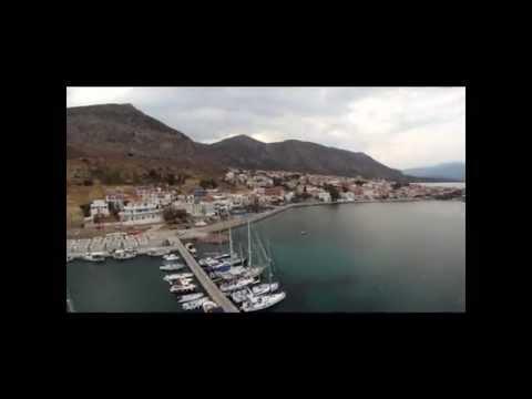 Monemvasia Drone Video
