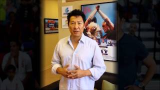 Phillip Rhee (Underdog Kids Film Premiere Greeting)