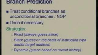 Lecture - 27 Pipelined Processor Design