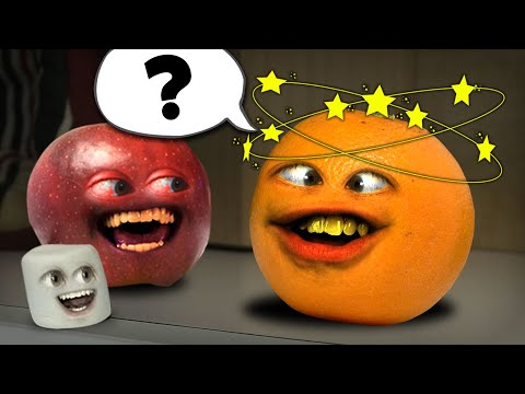 realannoyingorange - Orange gets hit in the head and forgets who he is! RETWEET: http://bit.ly/g7KqhX FREE version of my video game Kitchen Carnage: iTunes: http://bit.ly/AOKitch...