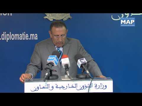 M. Amrani : Les Orientations Royales sur la question migratoire traduisent l'engagement irréversible du Royaume dans la construction d'un Etat de droit