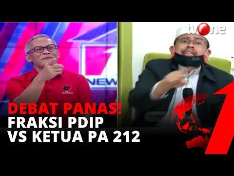 Debat Panas! Fraksi PDIP vs Ketua PA 212, Soal Kontroversi Konsep Trisila & Ekasila   tvOne