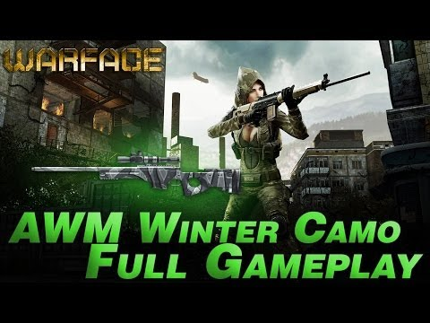 WarFace Full GamePlay AWM Winter Camo Bravo#1