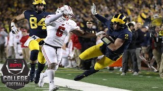 No. 12 Michigan defeats No. 15 Wisconsin for 6th straight win | College Football Highlights