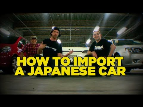 Importing - In this second installment of the Japan episode, the boys from Mighty Car Mods import a new ride from Japan and finally reveal what type of car they bought i...