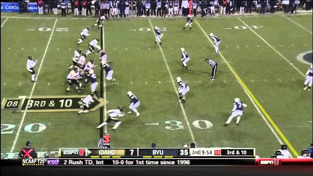 Ezekiel Ansah vs Idaho (2012)