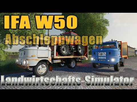 IFA W50 Towtruck Update v1.1.0.0