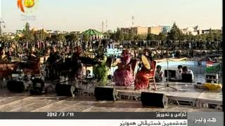 Festivali 2012 Iranian/Persian/Farsi Music Group Singing Kurdish In Arbil Hawler 2 Kamkar
