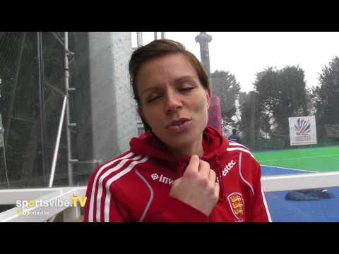 England & Great Britain Hockey Captain Kate Walsh Speaks To Sportsvibe TV