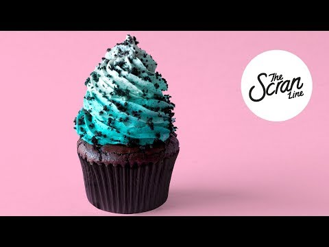 PEPPERMINT CHOCOLATE BROWNIE CUPCAKES - The Scran Line