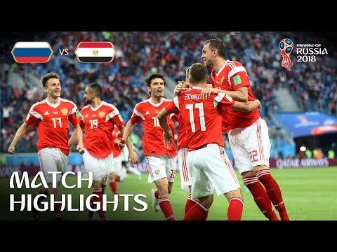 Russia v Egypt - 2018 FIFA World Cup Russia™ - Match 17 (видео)