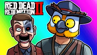 Red Dead Redemption 2 - Al Horsey and Terroriser's Puppet Face! (Funny Moments and Fails) by Vanoss Gaming