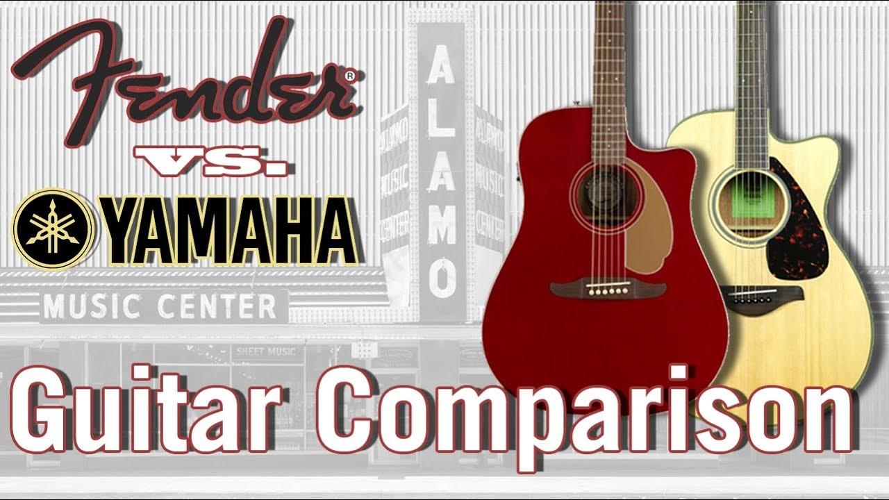 Yamaha FGX830C vs Fender Redondo Classic: $500-800 Acoustic Guitar Battle