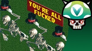What happens when 100 people play Rollercoaster Tycoon at the same time? A lot of people die, physics get broken and...