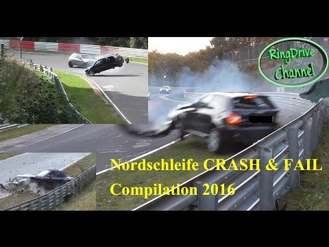 Video Big CRASH and FAIL compilation 2016 on Nürburgring Nordschleife RingDrive Channel download in MP3, 3GP, MP4, WEBM, AVI, FLV January 2017