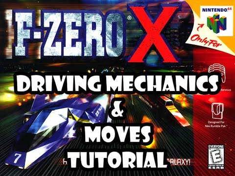 F-Zero X Tutorial - Driving Mechanics and Moves