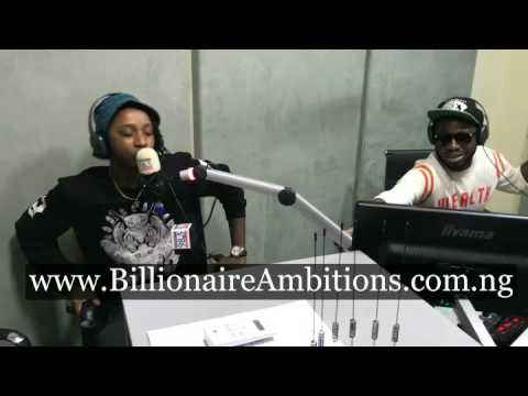 Yung6ix speaks about New Single with Davido on SoundCity Radio with Moti Cakes and Dj Kaywise