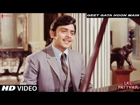 Video Geet Gata Hoon Main | Kishore Kumar | Lal Patthar | Vinod Mehra, Raaj Kumar download in MP3, 3GP, MP4, WEBM, AVI, FLV January 2017