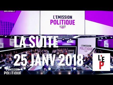 L'Emission politique - La suite - le 25 janvier 2018 (France 2)