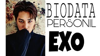 Video Biodata personil EXO [INDO] MP3, 3GP, MP4, WEBM, AVI, FLV Maret 2018