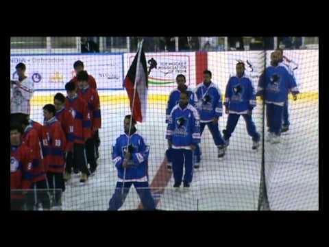 Kuwait Ice Hockey team 2012 منتخب الكويت لهوكي الجليد 2012