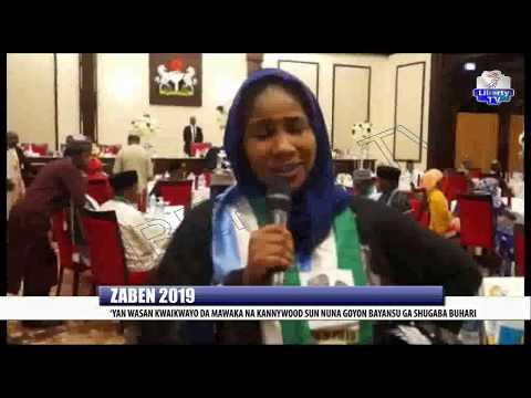 Zaben 2019: 'Yan Wasan Kwaikwayo Da Mawaka Na Kannywood Sun Nuna Goyon Bayansu Ga Shugaba Buhari