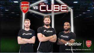 Video Giroud, Lacazette & Ramsey vs The Cube: Full episode MP3, 3GP, MP4, WEBM, AVI, FLV Mei 2018
