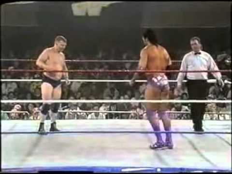 Razor Ramon vs Bob Backlund