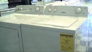 Higdon's Appliance Center - Washer and Dryer Speical May 2013